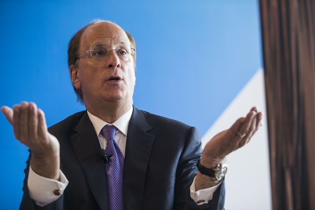 BlackRock's Larry Fink calls cryptocurrencies 'an index of money laundering featured image