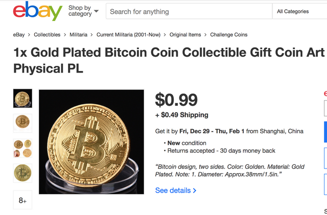 Ebay is 'seriously considering' accepting bitcoin featured image