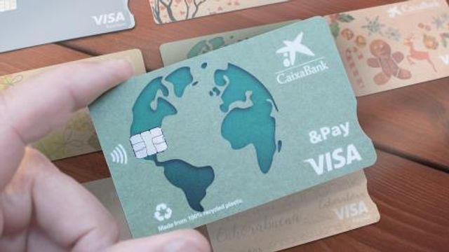 CaixaBank to replace cards with recycled material featured image