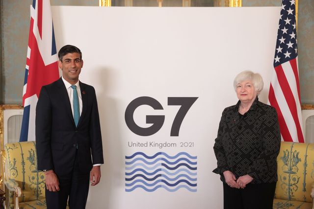 UK's Sunak says world is watching as G7 debates tax reform featured image