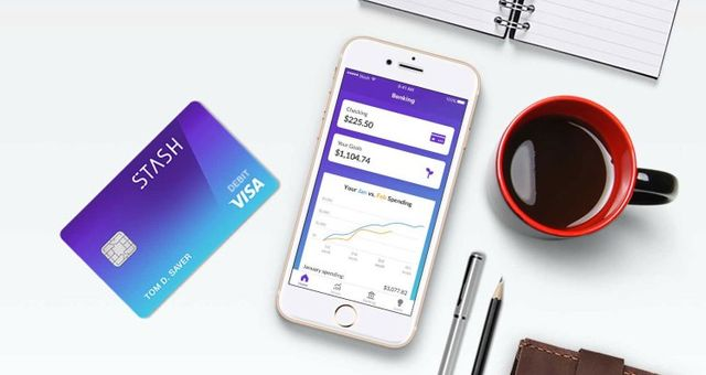 Investing app Stash raises $65M, launches banking and 'stock-back' rewards with Green Dot featured image
