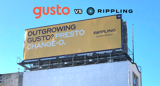 Rippling starts billboard battle with Gusto featured image