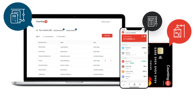 Countingup scores £4m bridge round for its small business banking and accounting app featured image