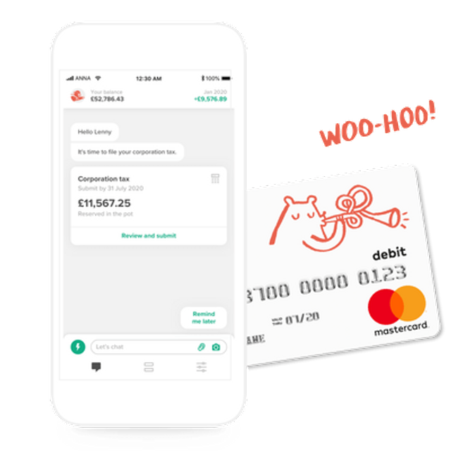 UK's ANNA raises $21m for its SMB-focused business account and tax app featured image