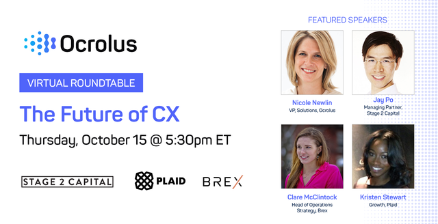 """Ocrolus set to host a virtual roundtable on """"the future of CX in lending' featured image"""