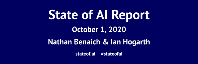 State of AI Report 2020 featured image