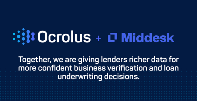 Ocrolus adds firmographic and KYB capabilities with Middesk integration featured image