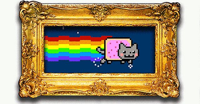 Why an animated flying cat with a Pop-Tart body sold for almost $600,000 featured image