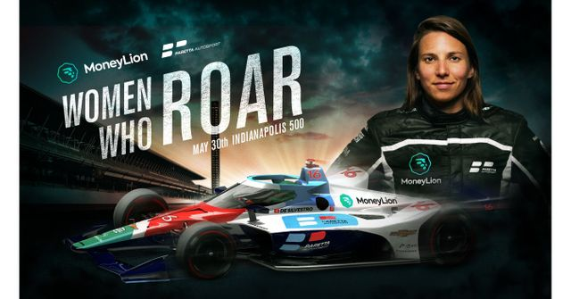 MoneyLion joins Paretta Autosport as first sponsor of the first female INDYCAR race team at the Indianapolis 500 featured image