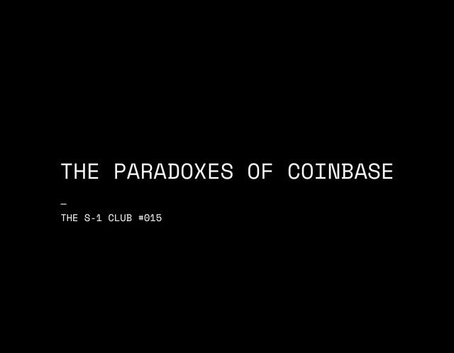 The paradoxes of Coinbase featured image