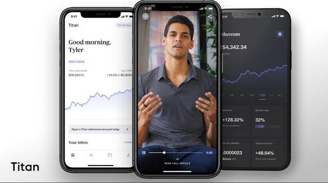 Titan raises $58m for mobile crypto investment platform featured image