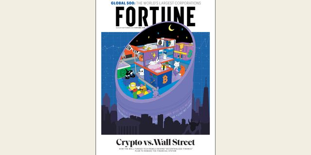 Crypto makes the cover of Fortune magazine featured image