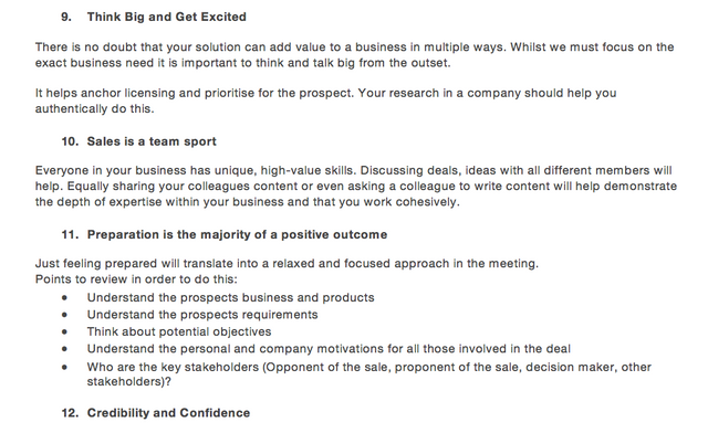 My Template To Create An Enterprise Grade Sales Playbook (Download Here) featured image