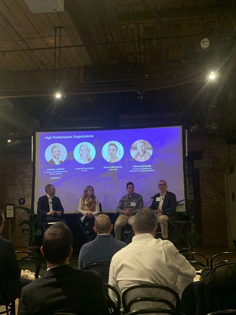 High performance organisations with Jonathan Fader, David Kaplowitz and Courtney McColgan at Fintech Collective Annual Meeting featured image