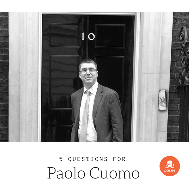 'To be genuine it needs to be triggered by a thought': 5 Questions for Paolo Cuomo featured image