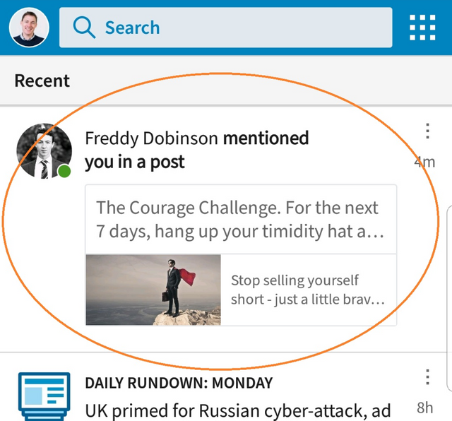 Name-checking & LinkedIn - a great way to approach senior decision makers featured image