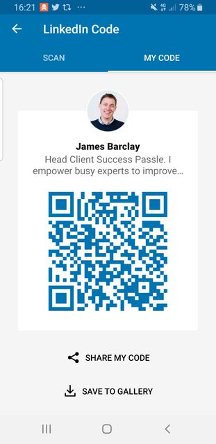 LinkedIn QR code makes it easy to connect at events featured image