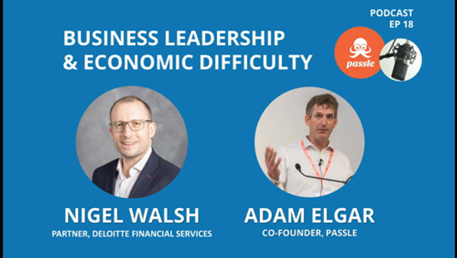 Passle Podcast Episode 18 - Business Leadership with Nigel Walsh of Deloitte featured image