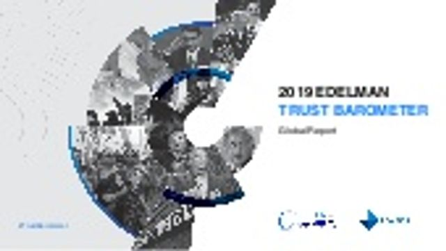 What does the 2019 Edelman Trust Barometer mean for sales enablement? featured image