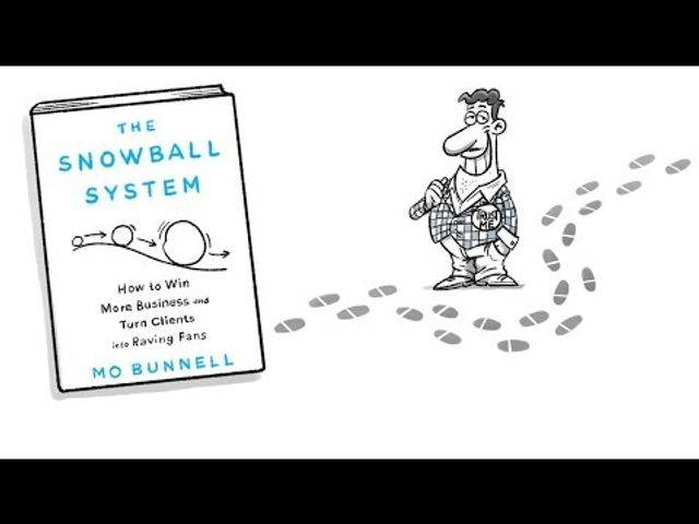 Business Development tips - How you can use 'The snowball system' to grow your business without feeling like a sleazy salesman featured image