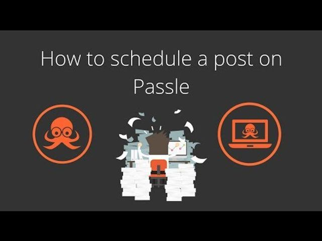 How can I schedule my Passle posts? featured image