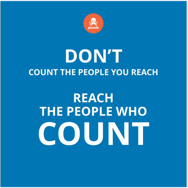 Reaching the people that count featured image