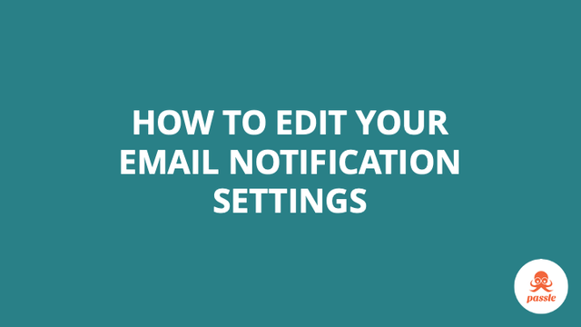 How to edit your email notification settings – Passle Knowledge Base featured image