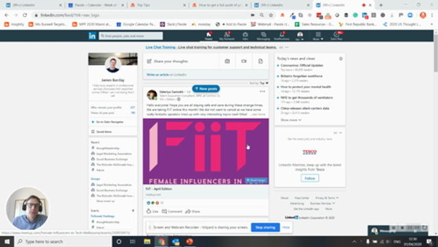 How to get a full audit of your LinkedIn Account. Easily see who you are connected to and work out who else you should be... featured image