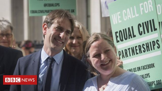 Heterosexual couple win right to civil partnership featured image