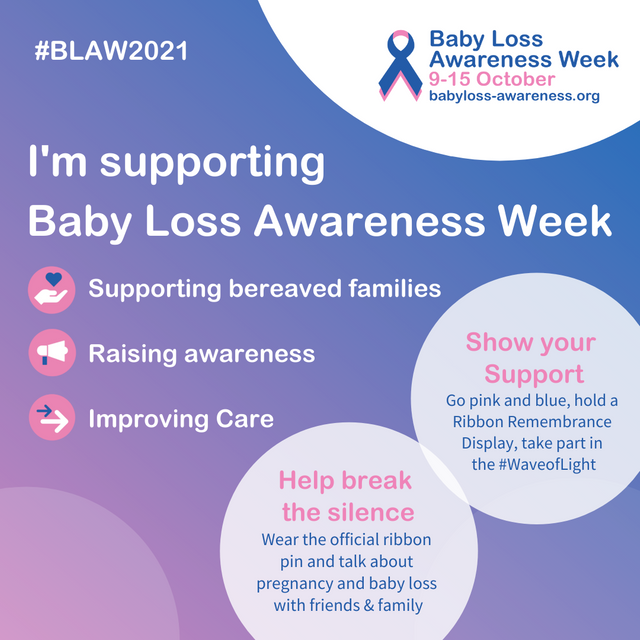 Baby Loss Awareness Week: 9-15 October featured image
