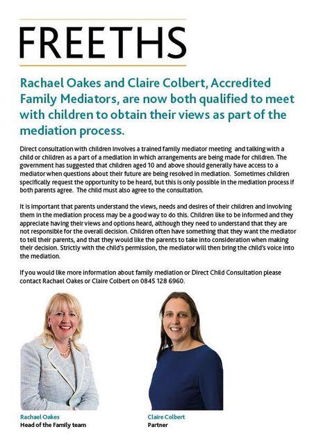 Children's voice in mediation featured image