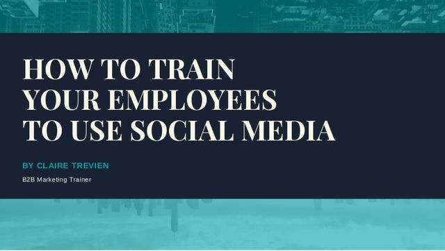 Training your employees to use social media: guidelines vs empowerment featured image