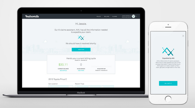 Metromile provides a frictionless claims experience with their new AI claims assistant featured image