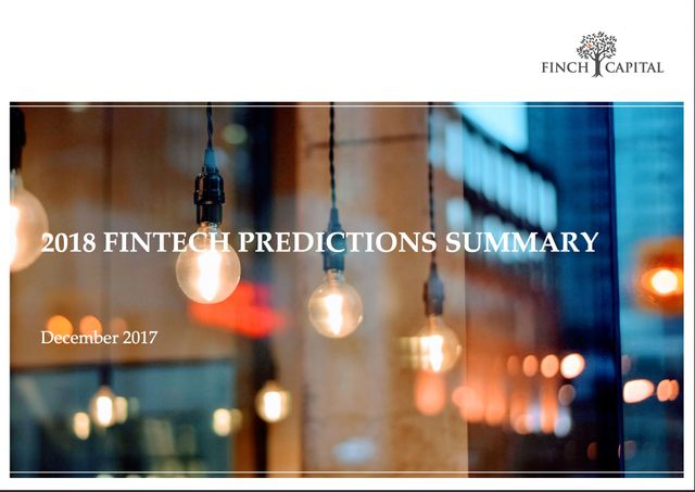 Finch Capital 2018 Predictions featured image