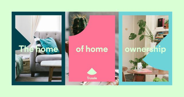 Online mortgage broker Trussle has rebranded with a new tagline, 'The Home of Home Ownership', and l featured image