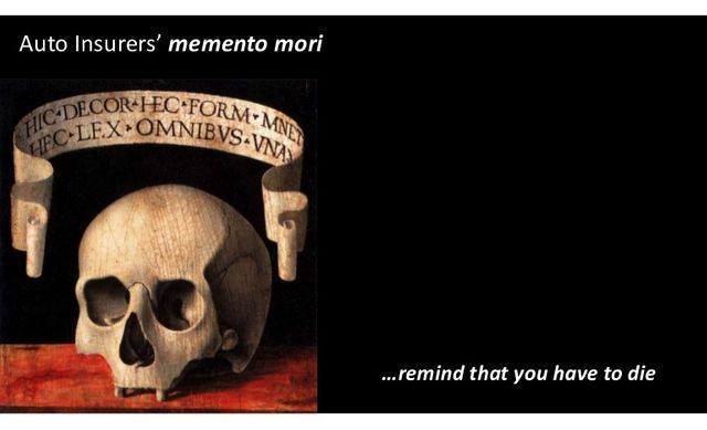 Auto Insurers' Memento Mori featured image