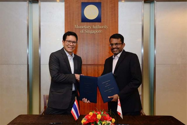Bank of Thailand and Monetary Authority of Singapore sign FinTech Cooperation Agreement featured image