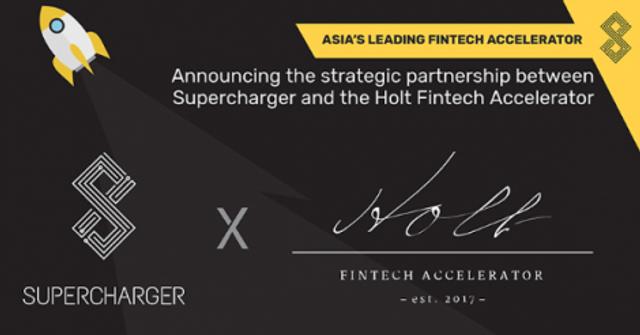 SuperCharger partners Holt Fintech Accelerator featured image