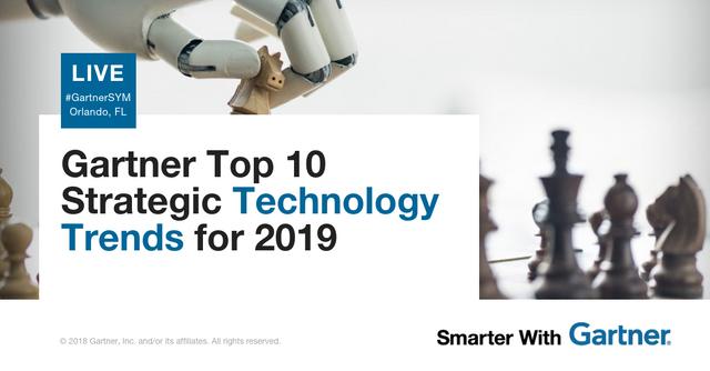 Gartner Top 10 Strategic Technology Trends for 2019 featured image