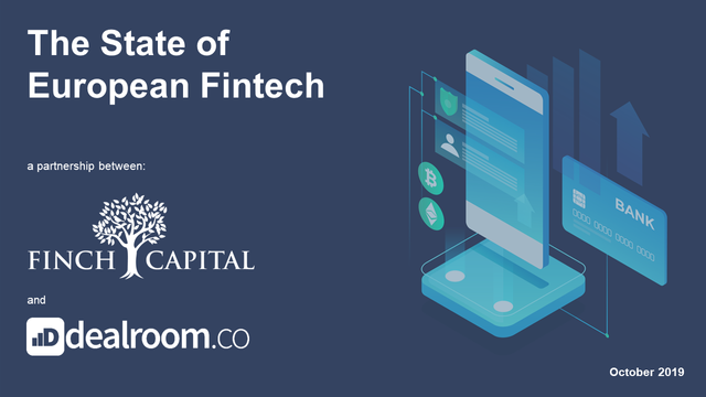 Finch Capital and Dealroom release the State of European Fintech 2019 featured image