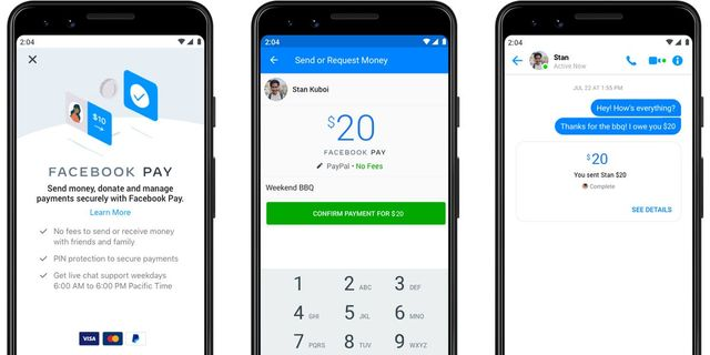 Facebook's new payment service will let you send money without fees across Facebook, Instagram, What featured image