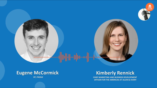 CMO Series EP 4 - Kimberley Rennick of Allen & Overy on the purpose and direction of marketing in 2021, Eugene McCormick, Samuel Page featured image