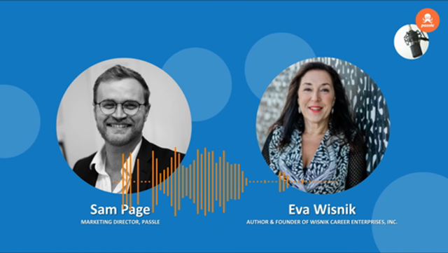 CMO Series Podcast EP 7 - Eva Wisnik on the state of the talent market in Professional Services Marketing & Business Development, Samuel Page featured image