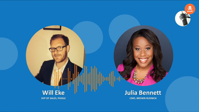 CMO Series EP 11-Julia Bennett on the missing piece in client relationships at law firms, Sarah Connolly featured image