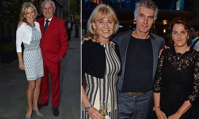 """The Daily Mail chairman, his """"vivacious"""" wife and, wait... their AMICABLE divorce featured image"""
