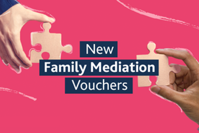 £1 million voucher scheme to help families resolve disputes outside of court featured image