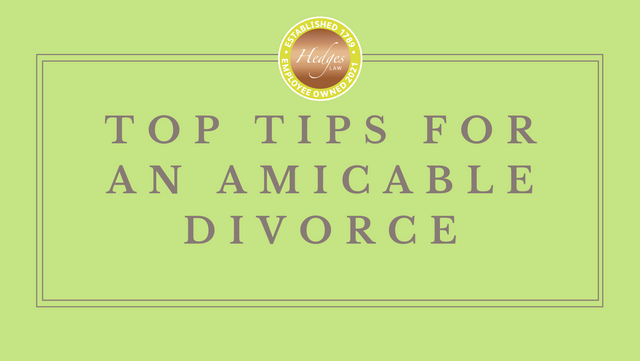 Top Tips for an Amicable Divorce featured image