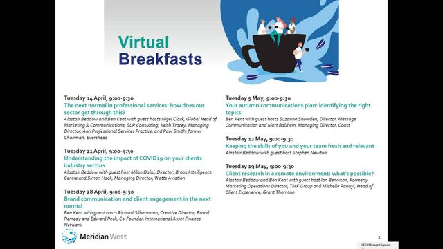 You bring breakfast, we'll bring insights featured image