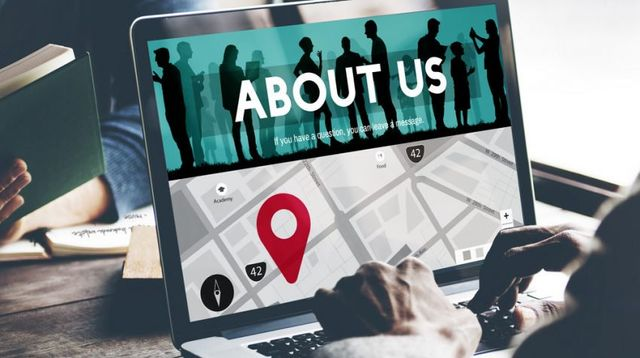 """Optimize an """"About Us"""" page featured image"""