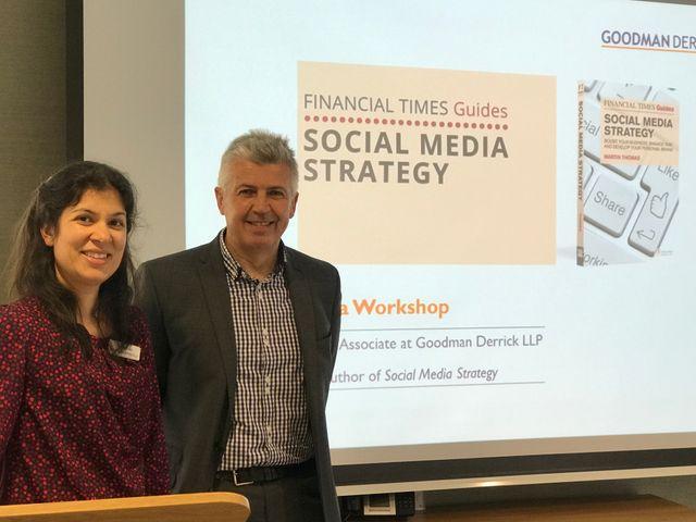 Goodman Derrick host social media strategy seminar featured image